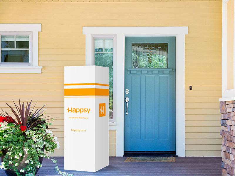 Happsy sleep delivered directly to your door