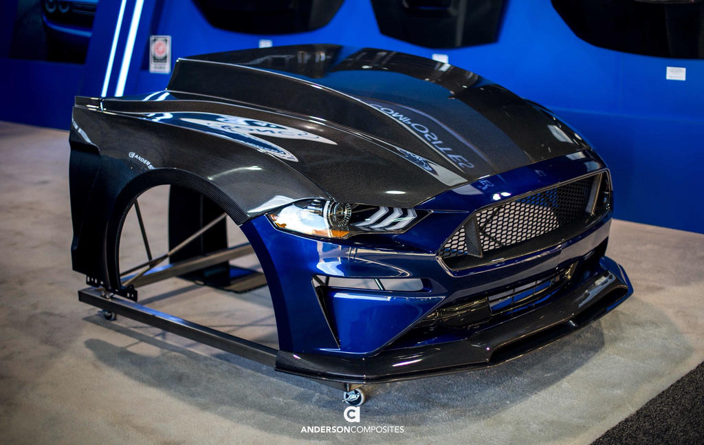Shop 2018 Ford Mustang Carbon Fiber Scroll Down