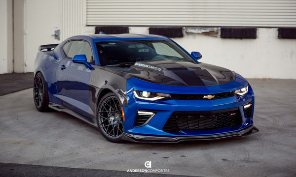 2016 - 2019 Camaro Carbon Fiber Type-SS Fenders (Pair ...