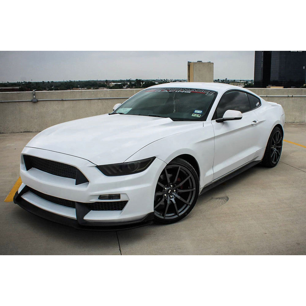 2015 - 2017 Mustang GT350 Style Mustang Fiberglass Front Bumper with Front  Lip