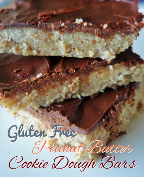 "Gluten Free AND ""Macro Friendly"" Peanut Butter Cookie Dough Bars!"