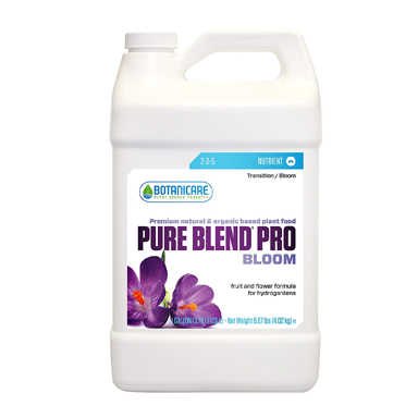 Botanicare Pure Blend Pro Bloom 1 Gallon - TheHydroPlug