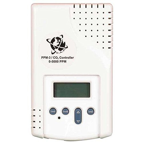 PPM3 - CO2 PPM Monitor/Control - Hydro4Less