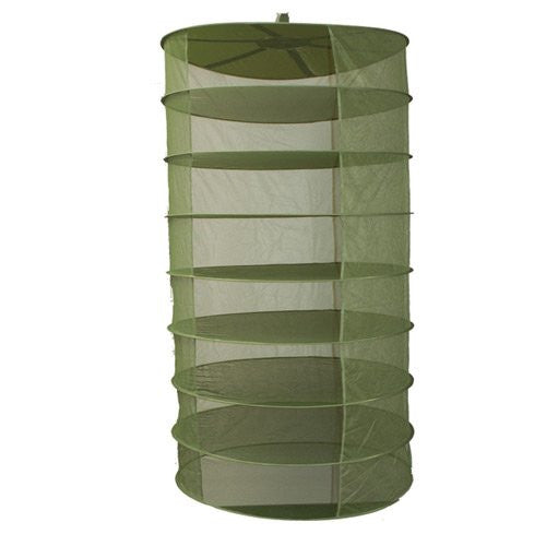GRO1 3-Ft Plant Crop Harvest Drying Fabric Tiered Dry Rack Nets (No Clips) - TheHydroPlug