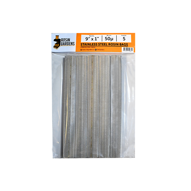 50 Micron Stainless Steel Rosin Bags (5 pk) Screen Heat Press - Hydro4Less