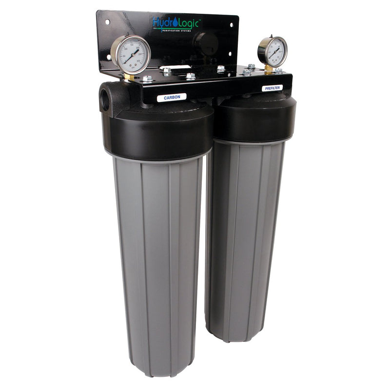 Hydro Logic Big Boy De-Chlorinator Sediment Filter High Flow 420 GPH - system