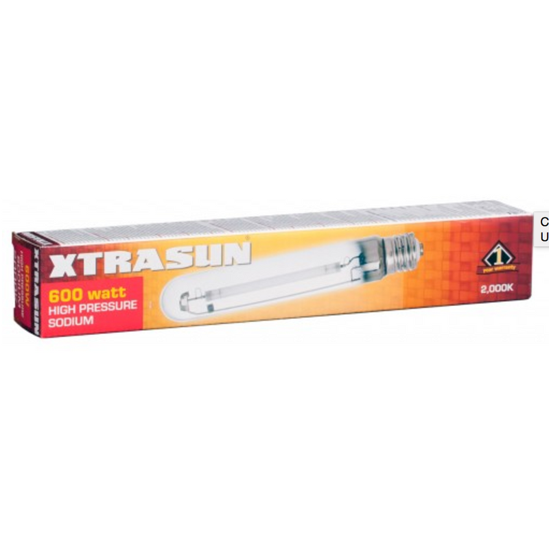 Xtrasun High Pressure Sodium (HPS) Lamp, 600W, 2000K - Hydro4Less