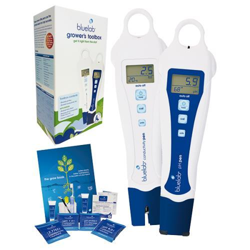 Bluelab Grower's Toolbox Limited Edition - pH PPM Pen Blue Lab Meter Tester NEW - TheHydroPlug