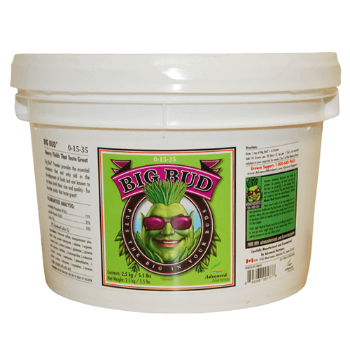 Advanced Nutrients Big Bud Powder 2.5 kg - TheHydroPlug