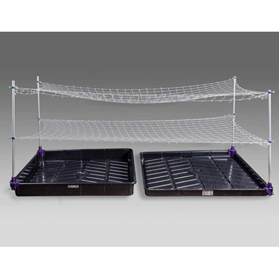Hydroponic Tray Net Stands Attachment Outside Dimension Model B Support Rack