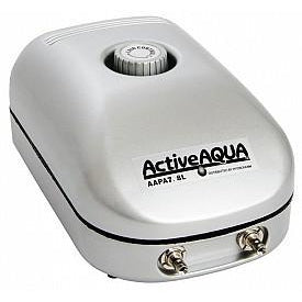 Active Aqua Air Pump 2 Outlet - TheHydroPlug