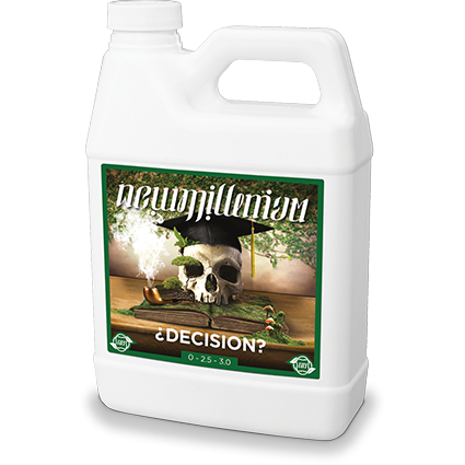 New Millenium Decision 1 Gallon Flower Enhancer Booster Nutrient Hydroponic - TheHydroPlug
