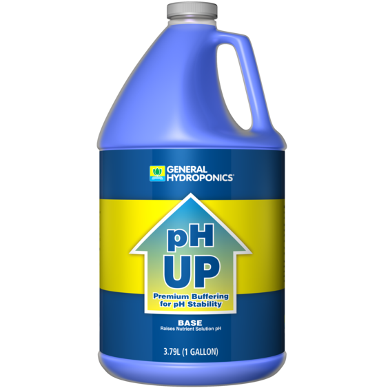 General Hydroponics pH Up 1 Gallon (Base) - Hydro4Less