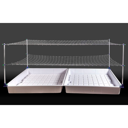 Hydroponic Tray Net Stands Attachment Inside Dimension Model A Support Rack