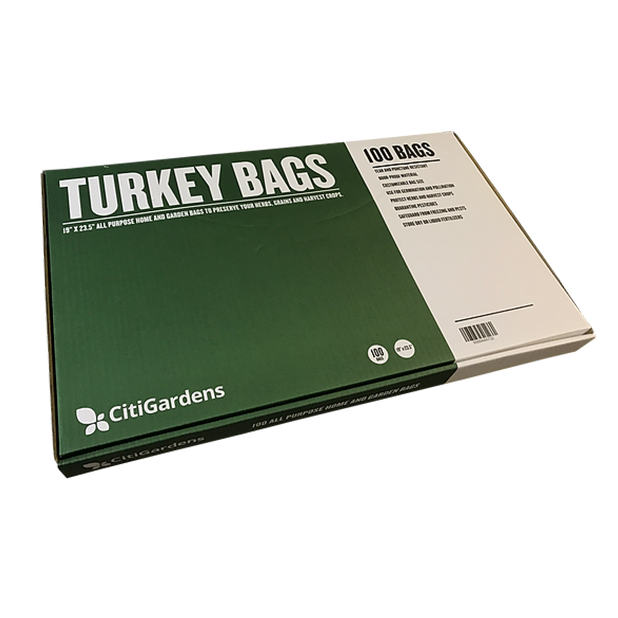 CitiGardens Turkey Bags 100pk - FREE SHIPPING! - Hydro4Less