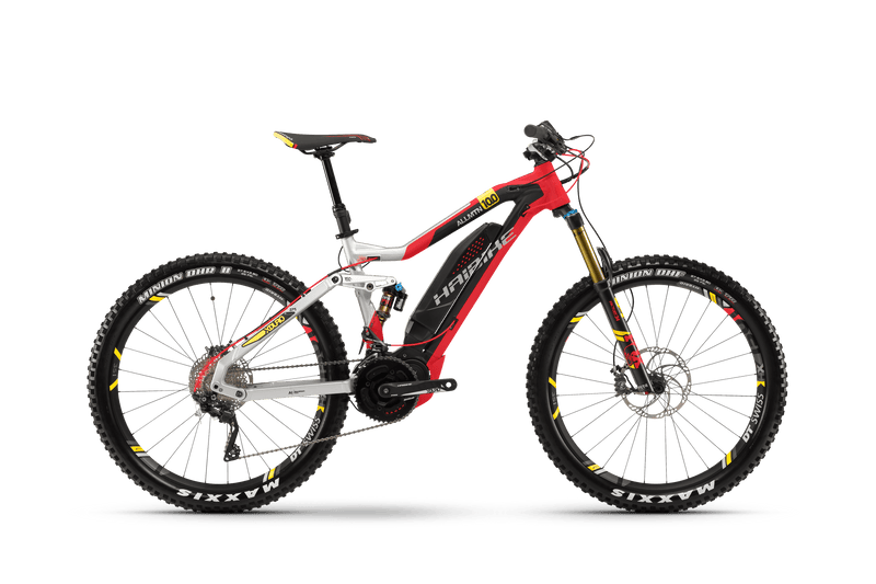 NEW 2018 Haibike XDURO AllMtn 9.0 Electric Bike eMTB e Mountain Bike Full Suspension Soft tail