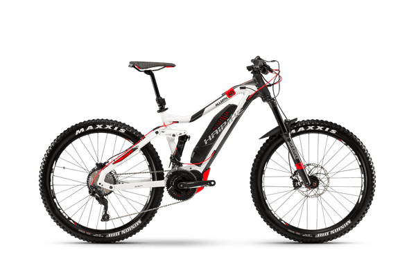NEW 2018 Haibike XDURO AllMtn 6.0 Electric Bike eMTB e Mountain Bike Full Suspension Soft tail