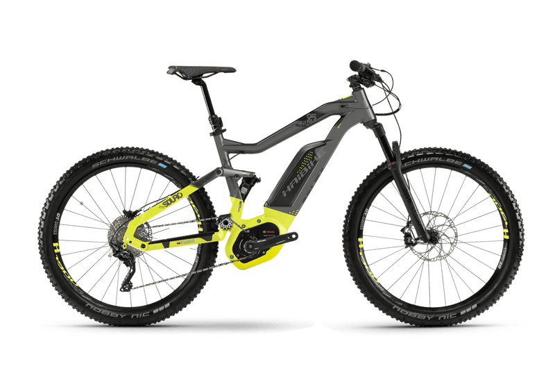 NEW 2018 Haibike SDURO Full Seven 9.5 Electric Bike eMTB e Mountain Bike Full Suspension Soft tail