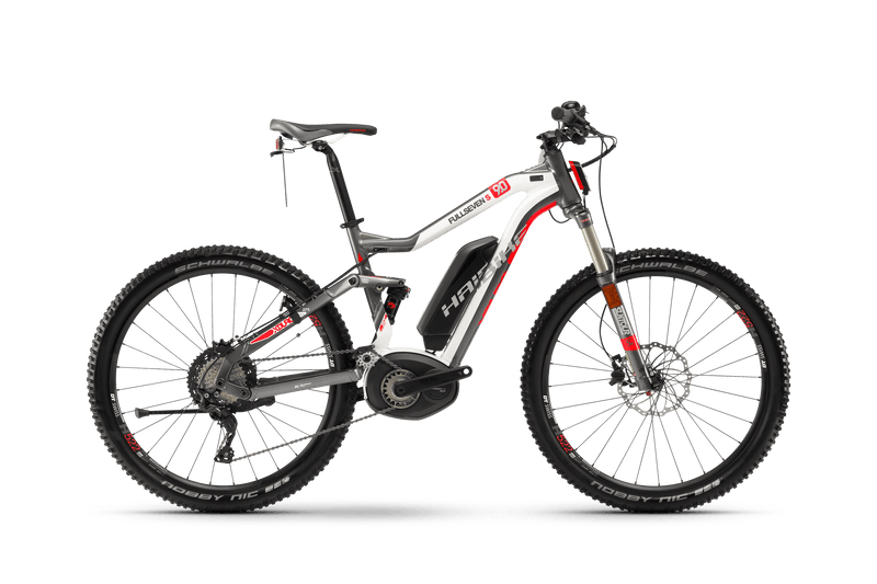 Haibike XDURO XTREME 28MPH Full Seven S 9.0 Electric Bike eMTB Full Suspension Soft Tail