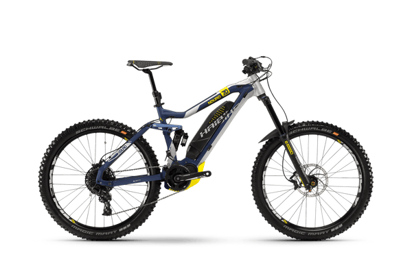 NEW 2018 Haibike XDURO NDURO 7.0 Electric Bike eMTB e Mountain Bike Full Suspension Soft tail