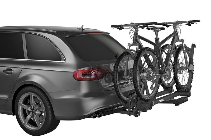 "Thule T2 Pro XT 2 - 2"" Premium, platform hitch bike rack delivering maximum strength, security and user friendliness (for 2-4 bikes)."