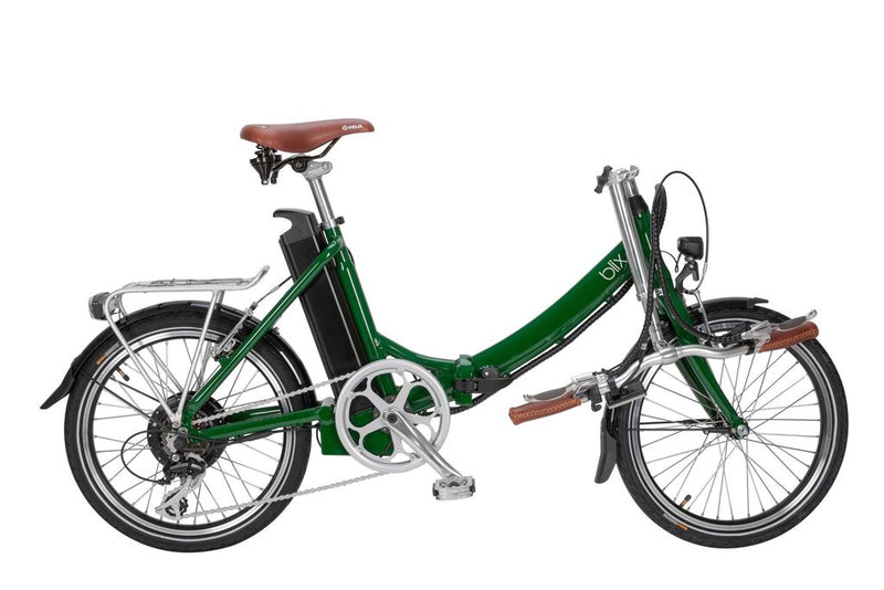 Blix Vika+ folding electric bicycle ebike foldable bike