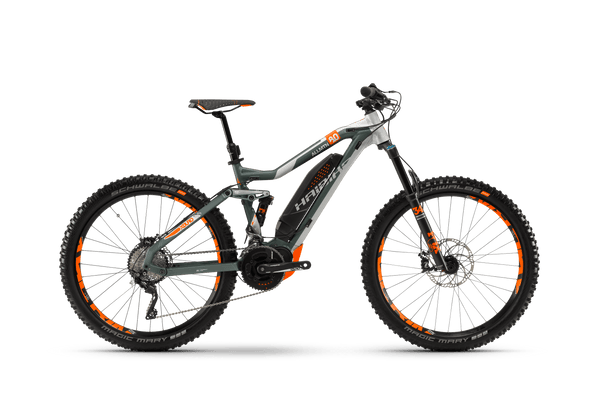 NEW 2018 Haibike XDURO AllMtn 8.0 Electric Bike eMTB e Mountain Bike Full Suspension Soft tail Electric bike of The Year