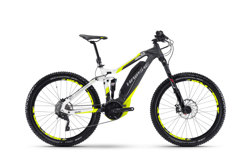 NEW Haibike XDURO AllMtn 7.5 Electric Bike eMTB e Mountain Bike Full Suspension Soft tail