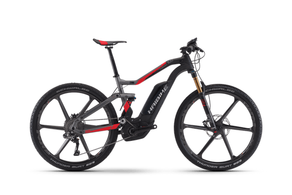 NEW 2018 Haibike XDURO Full Seven Carbon 10.0 Electric Bike eMTB e Mountain Bike Full Suspension Soft tail
