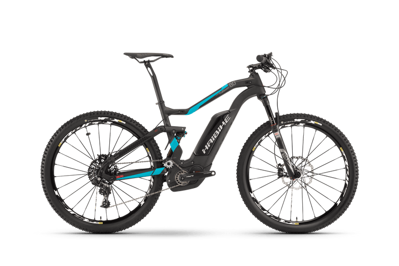 NEW  Haibike XDURO Full Seven Carbon 8.0 Electric Bike eMTB e Mountain Bike Full Suspension Soft tail