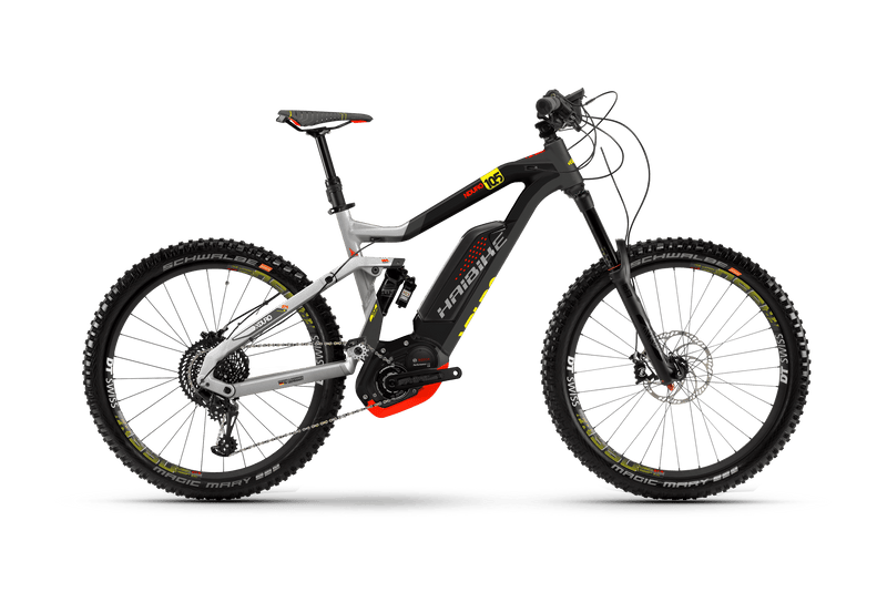 NEW 2018 Haibike XDURO NDURO 10.5 Electric Bike eMTB e Mountain Bike Full Suspension Soft tail