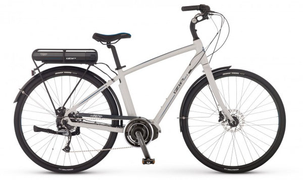 2017 IZIP E3 Path Plus electric bike mid drive Shimano STePS ebike urban commuter e-bike