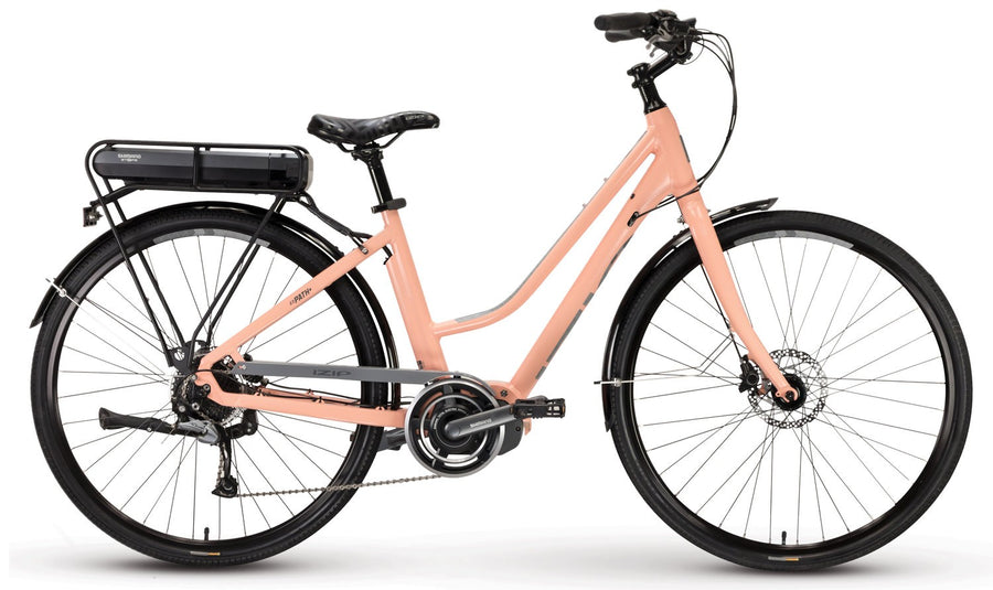 New IZIP E3 Path Plus LS Low Step thru electric bike mid