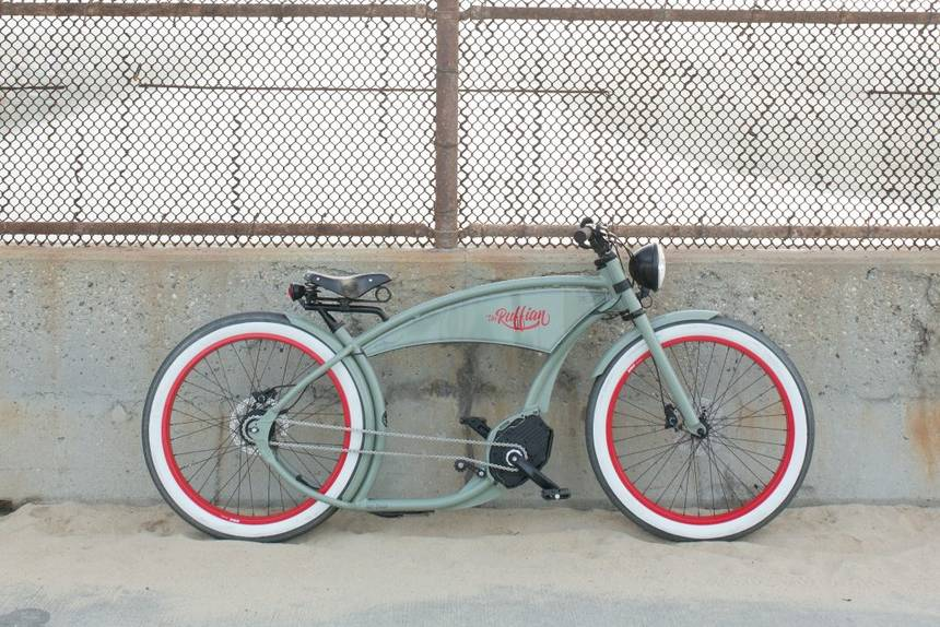 Ruff Cycles retro Electric Bikes Ruffian e-bike with Bosch Motor Best electric ebike USA