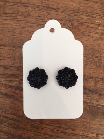 Mum Earring - Viki Black