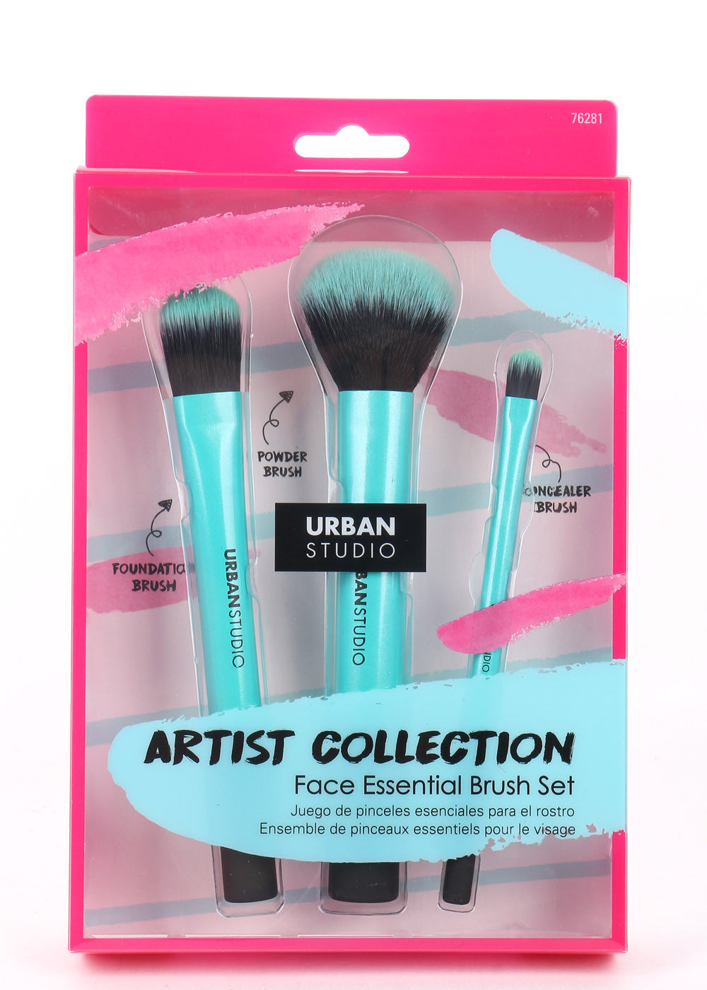 76281  URBAN STUDIO Artist Collection Face Essential Brush Set