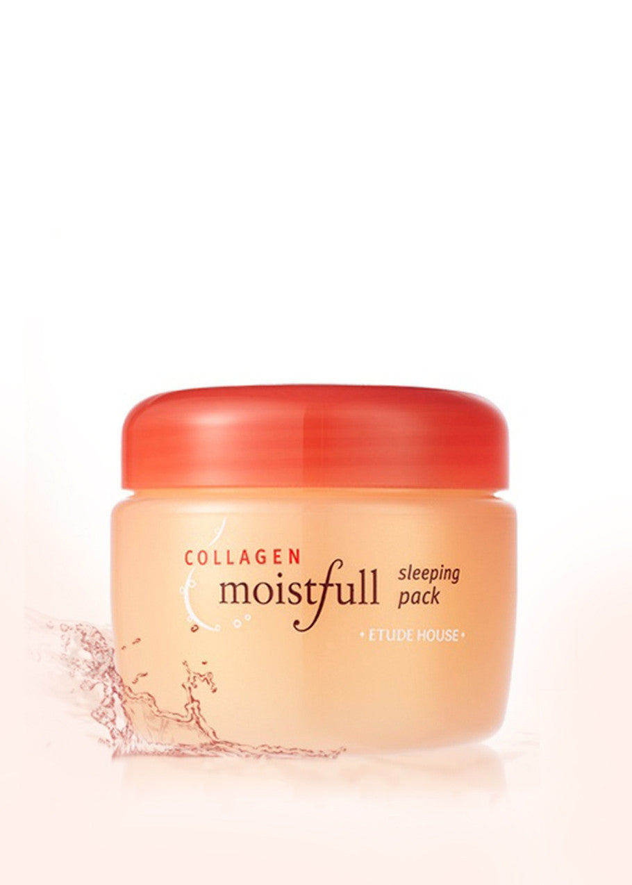 SLEEPING PACK :  Etude House, Moistfull Collagen Sleeping Pack, 3.38 fl oz (100 ml)