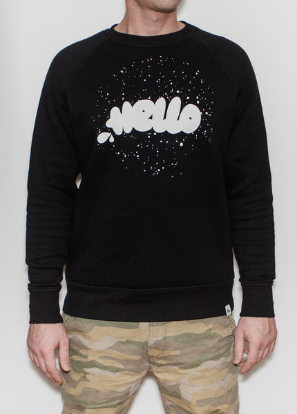 HELLO SPACE RAGLAN