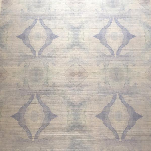 10516 Bit of Blue B Grasscloth Wallcovering