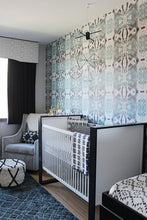 Load image into Gallery viewer, 125-5 Blue Grey Wallcovering