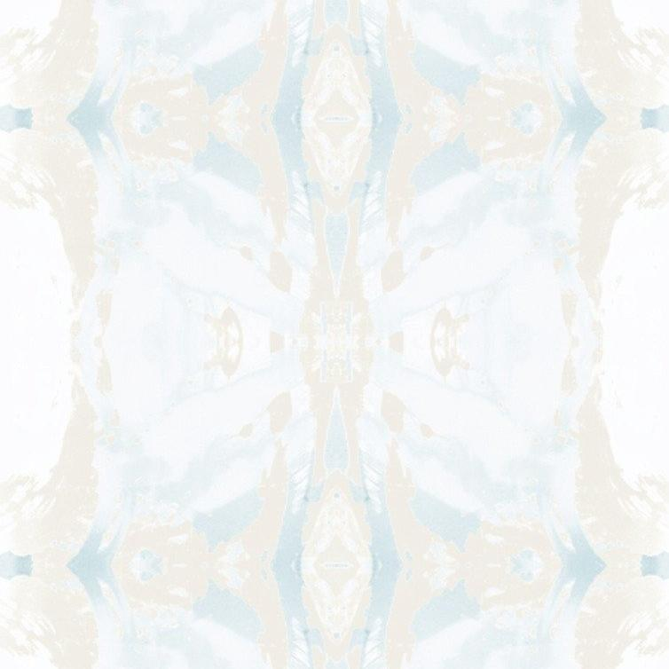 125-5 Blue Ivory Wallcovering