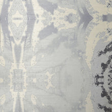 Load image into Gallery viewer, 125-5 Grey Ivory A Grasscloth Wallcovering