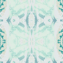 Load image into Gallery viewer, 125-5 Turquoise Green Wallcovering