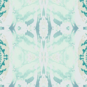 125-5 Turquoise Green Wallcovering