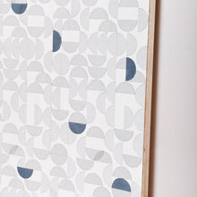 Load image into Gallery viewer, Arc Embroidered Wallcovering Navy