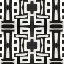 Load image into Gallery viewer, 81613 Black White Inverse Fabric
