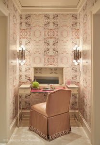 411 Peach Taupe Wallcovering