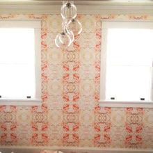 Load image into Gallery viewer, 411 Red Peach Mint Wallcovering