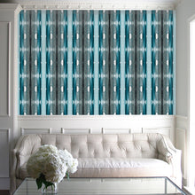 Load image into Gallery viewer, Squash Blossom Turquoise Wallcovering