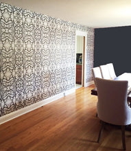 Load image into Gallery viewer, 51514 Black White Wallcovering